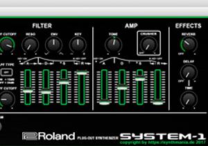 Roland System 1 Editor